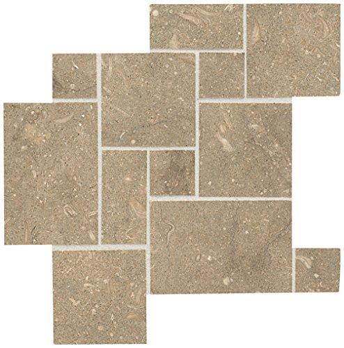 Dal-Tile L757VERPAT1U Limestone Tile Arctic Gray Mini VERS PAT HON (Mart-Anthol) x 11 3/4