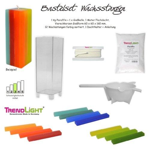 TrendLight ® 861235 - Kit per candele di cera