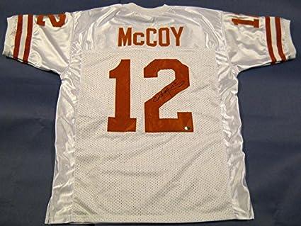4d7b6265d94 Image Unavailable. Image not available for. Color: Colt McCoy Autographed  Jersey ...