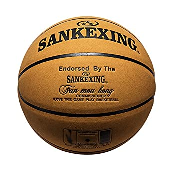 1 x Official Size 7 Leather Balón de baloncesto Indoor Outdoor ...