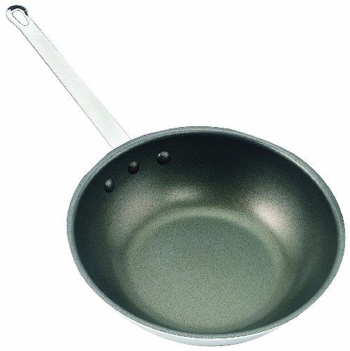 Crestware 13-Inch Silverstone Wok - Pan Fry Inch Stir 13
