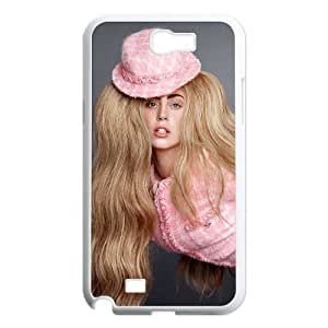 Custom High Quality WUCHAOGUI Phone case Lady Gaga Protective Case For Samsung Galaxy Note 2 Case - Case-4