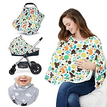 Amazon.com: Cubierta de lactancia para bebés y poncho de ...