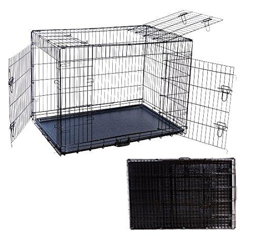 Outsunny - Transportín Jaula para Perros Gatos y Otros Animales de ...