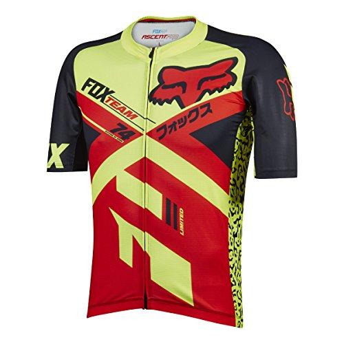 Fox Racing Ascent Pro Jersey - Short Sleeve - Men's Red, L