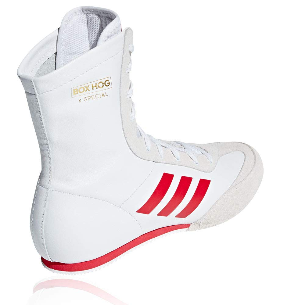 huge discount 174e7 f9e54 adidas Box Hog X Special Boxing Shoes - SS19 White Amazon.co.uk Shoes   Bags