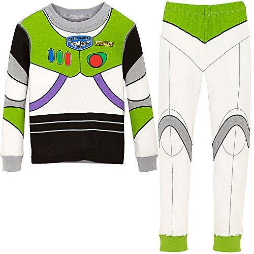 Disney Boys Buzz Lightyear Costume PJ PALS Pajamas Size 5