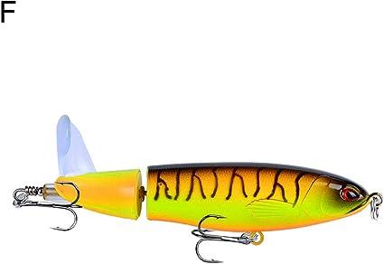 Pengyu Leurre De Pêche Avec Hélice Et Hélice Rotative De 11 Cm 15 G 1 Couleur F Amazon Fr Sports Et Loisirs