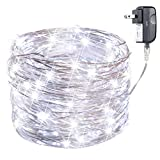 perfect garden lighting design EXTRA LONG 70ft 200LED The Original Starry String Lights Pure White Color LED's on a Flexible Sliver Copper Wire, Perfect For Parties, Bedrooms, Garden, Patio, Backyard, Indoor and Outdoor.