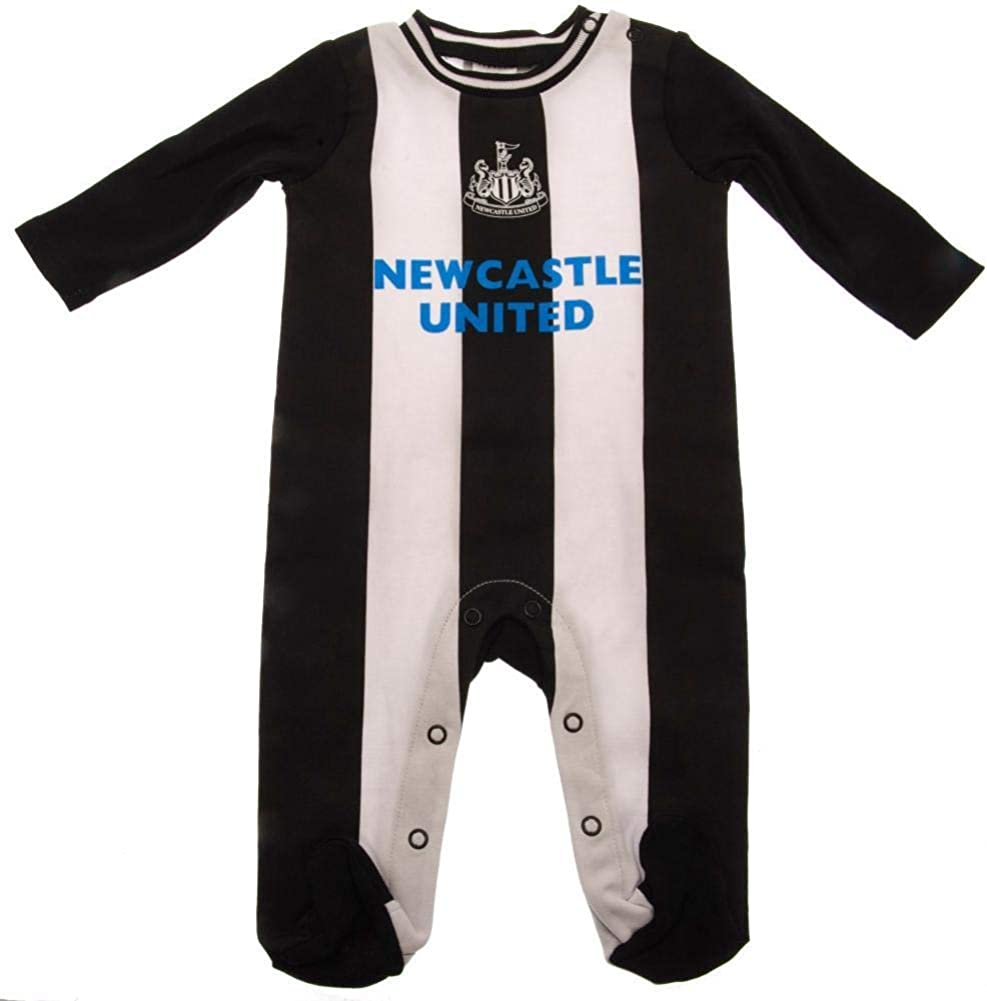 Brecrest Newcastle United Baby Sleepsuit 2019//20-12-18 Months