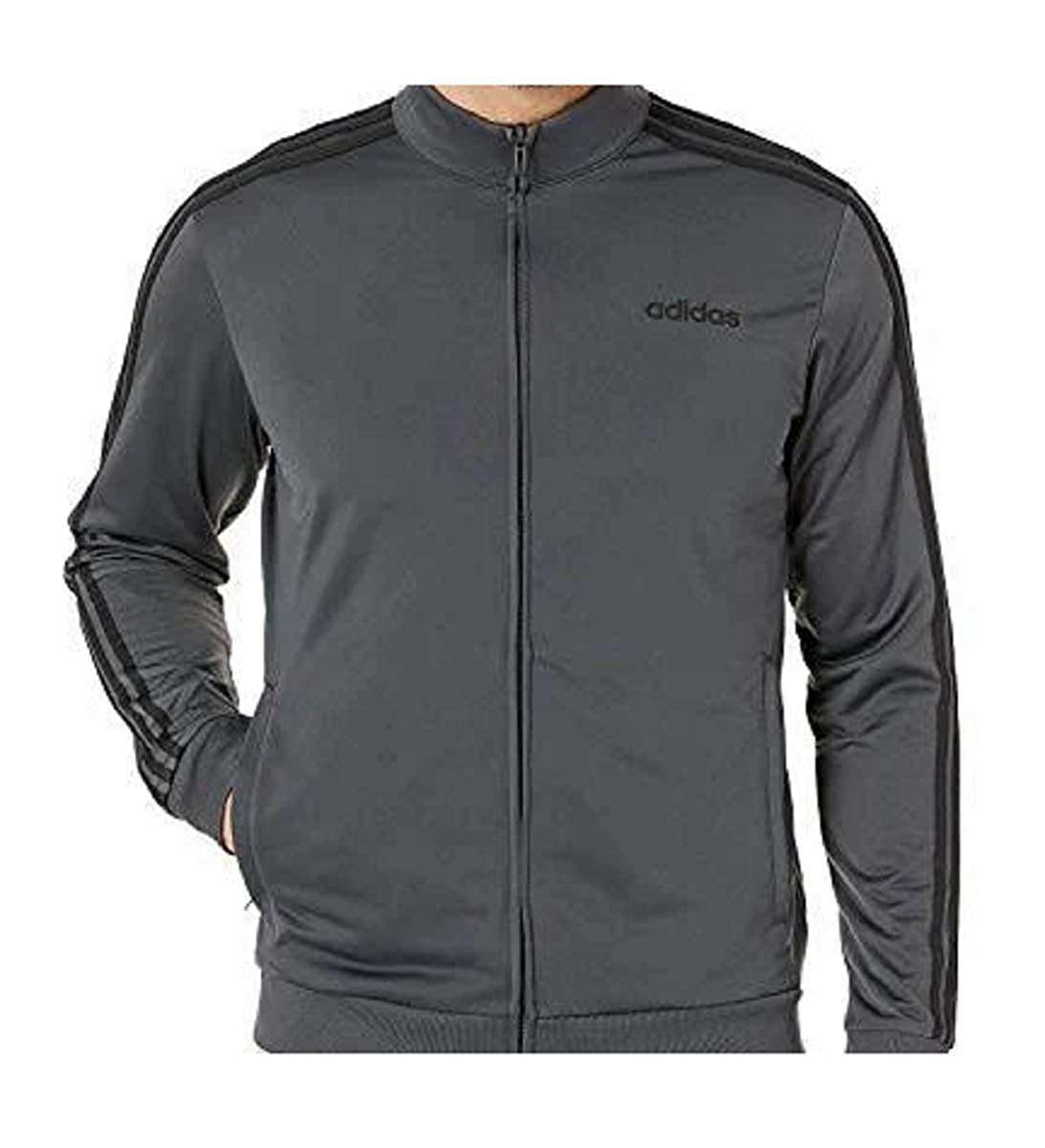 adiidas Youth 3-Stripes Track Jacket