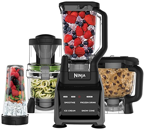 Ninja CT682SP Intelli-Sense Kitchen System with Auto-Spiralizer, Black by SharkNinja
