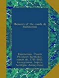 img - for Memoirs of the comte de Rambuteau book / textbook / text book