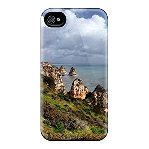 New Premium JqjHWeX6940YRDqS For Apple Iphone 5/5S Case Cover / Green Cliffs Case Cover
