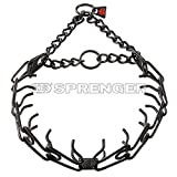 Sprenger Black Stainless Steel 3.25mm Pinch / Prong Collar Large