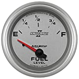 Auto Meter 7714 Ultra-Lite Pro II 2-5/8'' 0 E/ 90 F Short Sweep Electric Fuel Level- GM Gauge