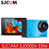 BOLAN-MALL Original SJCAM SJ5000x Elite Sport Camera, Underwater Camcorder 30M Waterproof Diving Sport DV Camera, Ultra 4K Wifi Action Camera (Black)