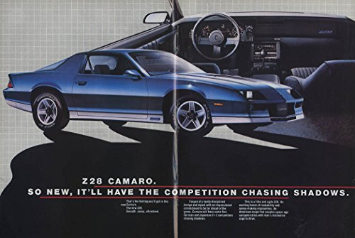 (Cast a new Shadow on the Street Camaro Z28 Berlinetta Sport Coupe ad 1982)