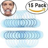 15 Pack Dental Cheek Retractor for Watch Ya Mouth/Speak Out Game C-SHAPE Adult Teeth Whitening Intraoral Cheek...