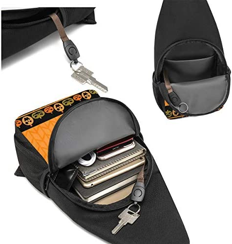 ハロウィン 斜め掛け ボディ肩掛け ショルダーバッグ ワンショルダーバッグ メンズ 多機能レジャーバックパック 軽量 大容量