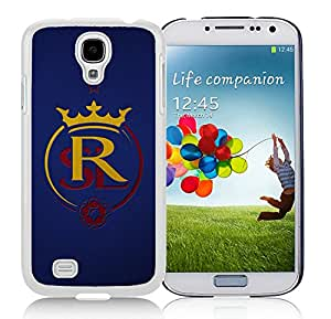 Fashionable And Antiskid Designed MLS Real Salt Lake Samsung Galaxy S4 I9500 i337 M919 i545 r970 l720 Case Cover 08 White