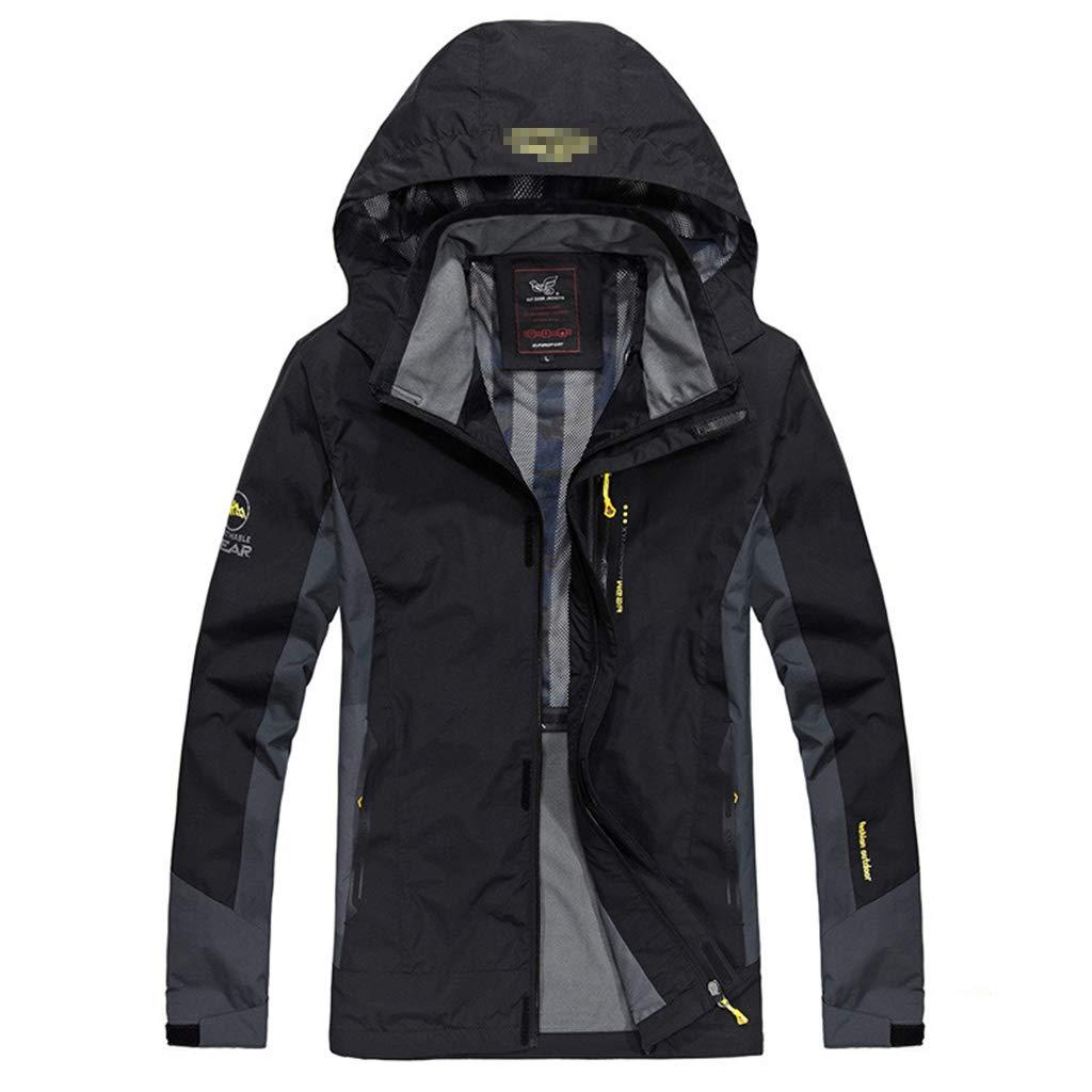 NHX wasserdichte Jacken Herren Outdoor-Jacken Wasserdicht Mantel Skating Multi-Taschen Frühling und Herbst Jacken Warme Jacken Ski