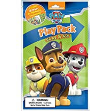 Paw Patrol PLAY PACK GRAB & GO! (4 Crayons,25 stickers,24 page fun size coloring book)