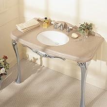 American Standard (0496221.020) Ovalyn 17-Inch Basin Undercounter Bathroom Sink, White