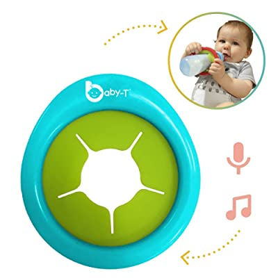 Biebies Baby-T Music Toy, Bottle Holder for Infants, Recordable Musical Toy Machine Sing Along-Rechargeable-Portable Musical Soother, Great Toys for Baby: Toys & Games