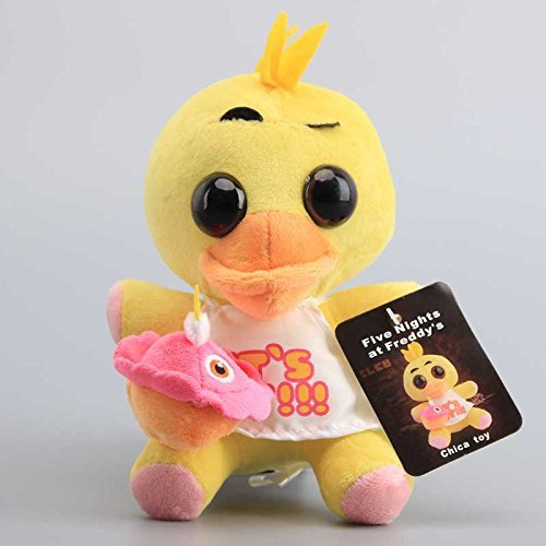 Five Nights At Freddy's Chica Chicken 7 Inch Toddler Stuffed Plush Kids Toys FNAF