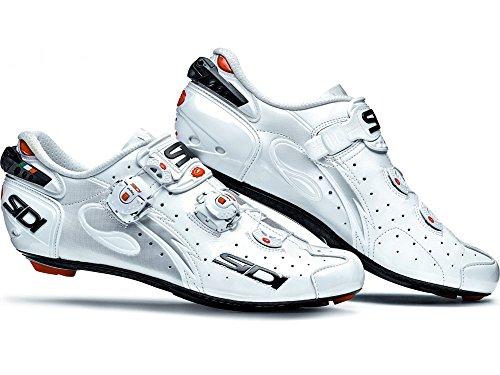 Sidi Draht Carbon Road Schuhe Weiß