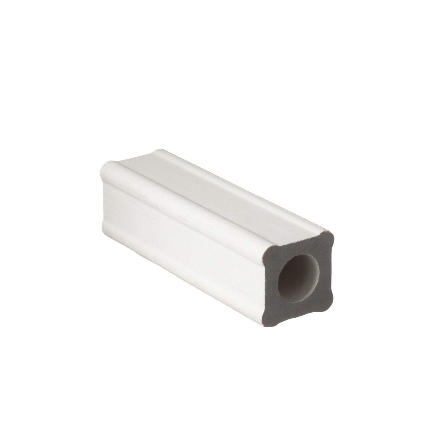 AMACO Durable Strong Shelf Support, 1 X 1 X 4 in, White, Pack of 12 by AMACO
