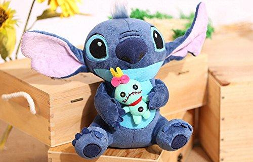 Kawaii Stitch Plush Doll Toys Anime Lilo and Stitch 25cm Stich Plush Toys for Children Kids Birthday Gift ()