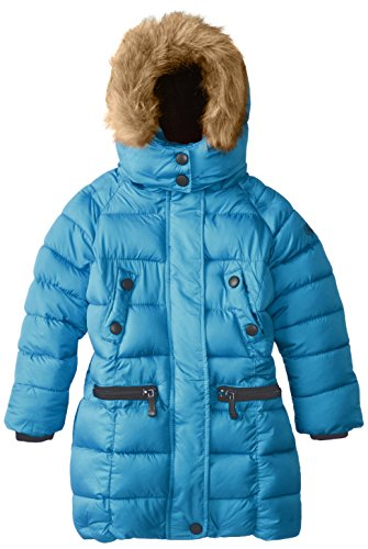 Jacket Long More Girls' Styles Outerwear Available Weatherproof Blue w8qUPta