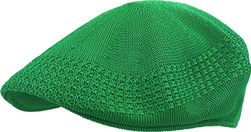 (KBETHOS KBM-001 KGN L Classic Mesh Newsboy Ivy Cap Hat (21 Colors / 4 Sizes) Kelly Green)