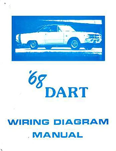 image unavailable  image not available for  color: bishko automotive  literature 1968 dodge dart electrical wiring diagrams