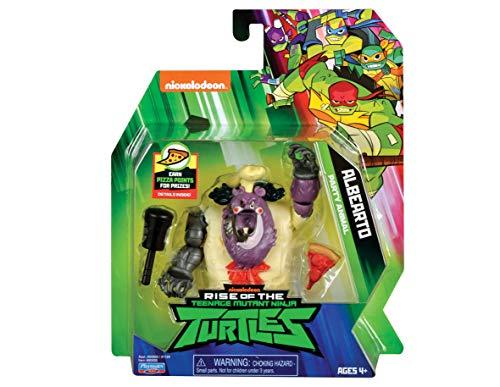 Rise of the Teenage Mutant Ninja Turtles Action Figures ALBEARTO FOOT LIEUTENANT