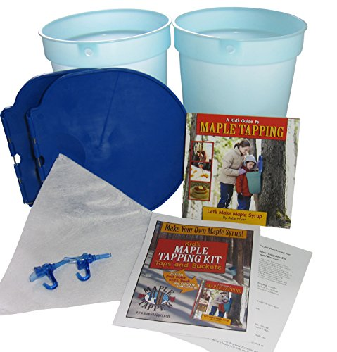 Kids   Maple Tree Tapping Kit   Bucket   Spiles Kit   Fun And Educational Maple Sugaring Kit