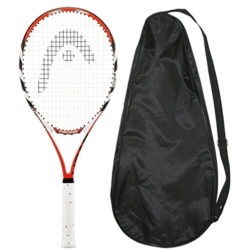 (HEAD Microgel Radical Oversize OS Tennis Racquet - STRUNG COVER (4-1/2))