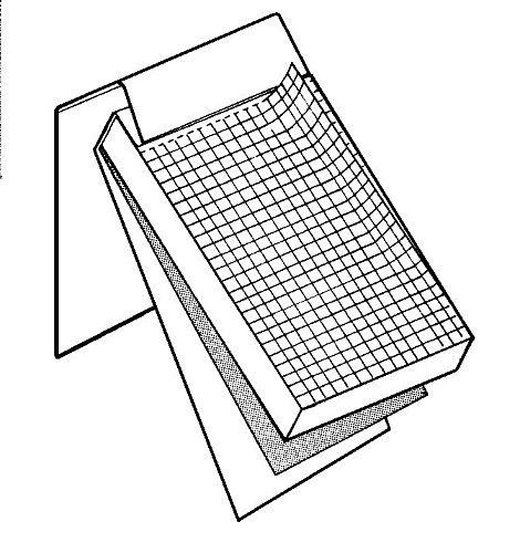 Alvin ALL11 Saray Lined Pad (2.9'' x 4.1'')