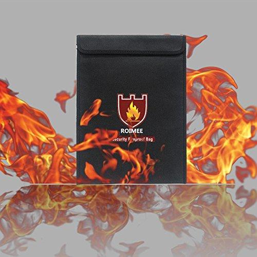 13. Feuerfeste Dokumententasche aus hochwertigem Fiberglas feuerfest Sicherheitstasche