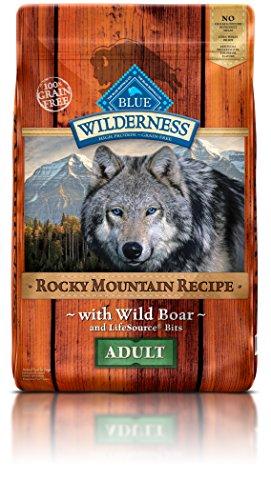 Blue Buffalo Wilderness Adult Rocky Mtn Recipes Boar 22 lb