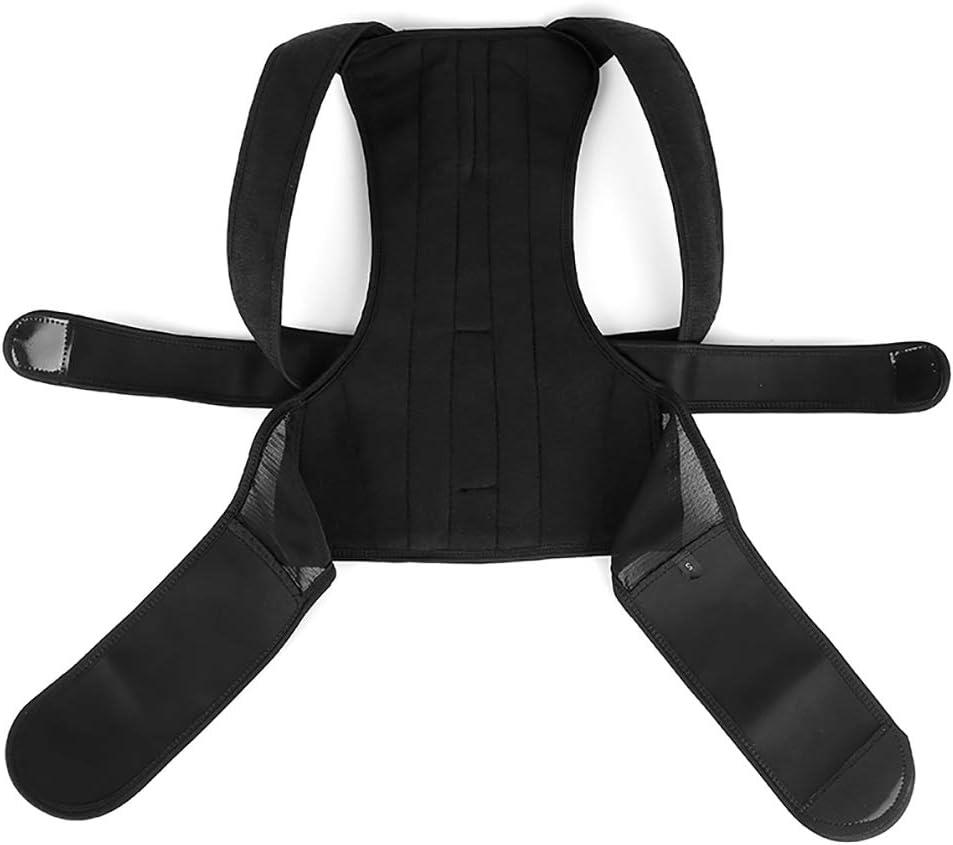 Corrección de La Postura de Espalda Soporte de Espalda Ajustable para Adultos con Órtesis El Dolor de Espalda Puede Mejorar La Postura Y Proporcionar Apoyo Lumbar