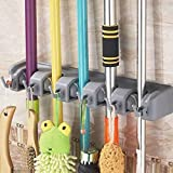 Newdora Mop Broom Holder Broom Organizer Key Rack