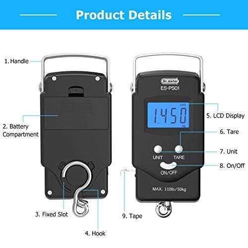 Dr. Meter PS01 Digital Scale