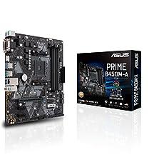 Asus Prime B450M-A/CSM AMD Ryzen 2 AM4 DDR4 HDMI DVI VGA M.2 USB 3.1 Gen2 mATX Motherboard