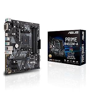 Asus Prime B450M-A/CSM AMD AM4 (3rd/2nd/1st Gen Ryzen™) Micro-ATX commercial motherboard (1Gb LAN, ECC Memory, D-Sub…