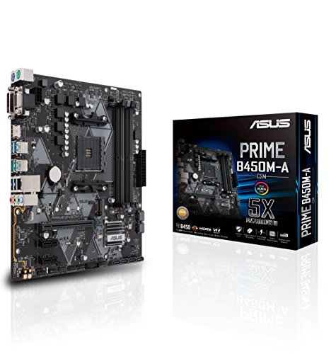 Asus Prime B450M-A/CSM AMD Ryzen 2 AM4 DDR4 HDMI DVI VGA M.2 USB 3.1 Gen2 mATX Motherboard (Best Cpu Cooler For The Money 2019)