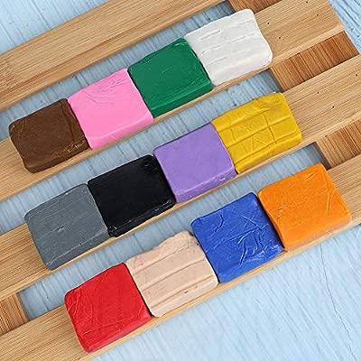 Arcilla polimérica, kit de inicio de arcilla polimérica 12 colores ...