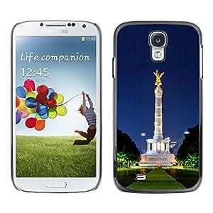 Paccase / SLIM PC / Aliminium Casa Carcasa Funda Case Cover - Architecture Park Statue - Samsung Galaxy S4 I9500